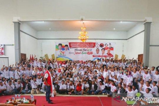 Warga di 13 kecamatan siap menangkan Jokowi-Ma'ruf