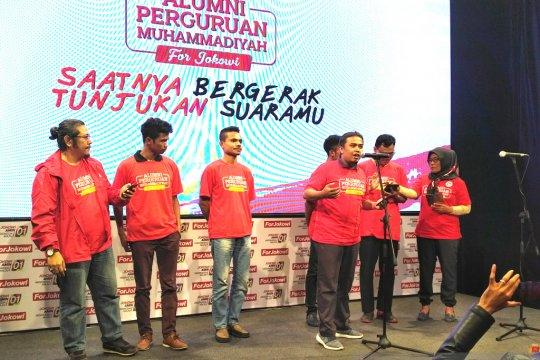 Alumni Perguruan Muhammadiyah for Jokowi sampaikan seruan nasional