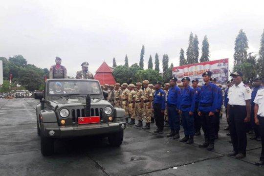 Gubernur Papua hadiri apel gelar pasukan gabungan Satpol-PP