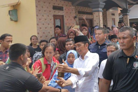 Jokowi janji jaga Indramayu sebagai lumbung padi nasional