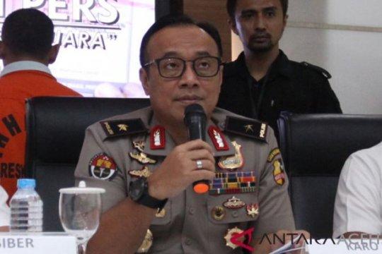 Anggota Polri amankan Pemilu dalam kondisi sehat saat bertugas