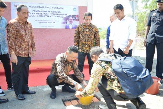 Pembangunan SMK Indonesia di Kinabalu dimulai