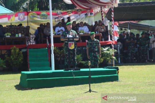 Panglima Kodam Merdeka buka TMMD di Gorontalo