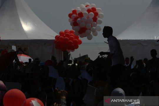 Kampanye terbuka Jokowi di Cirebon