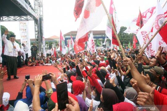 Kampanye K.H. Ma'ruf Amin di Bogor
