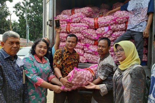 Kementan gelar operasi pasar bawang merah dan bawang putih di Jakarta