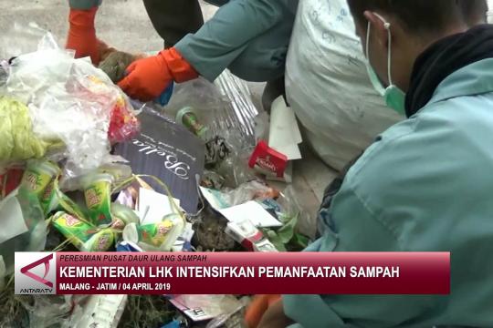 Kementerian LHK intensifkan pemanfaatan sampah