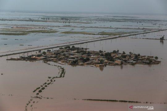 Banjir melanda Provinsi Khuzestan, Iran