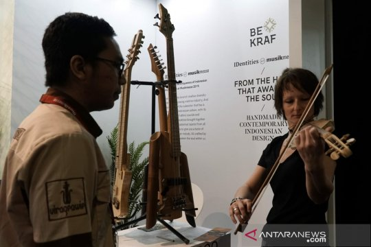 Pengunjung MusikMesse Frankfurt 2019 minati paviliun Indonesia
