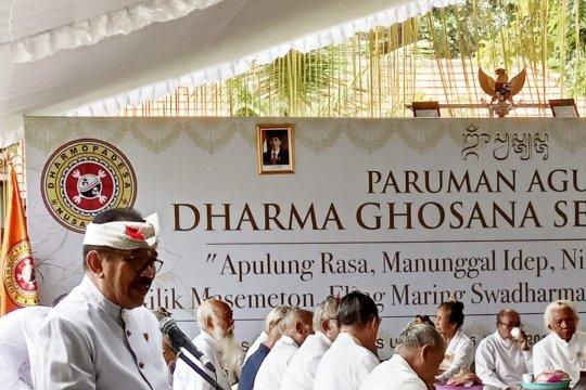 Wagub Bali harapkan sumbangsih pemikiran pemuka Agama Hindu