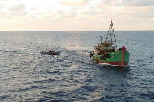 Koarmada I amankan dua kapal ikan Vietnam