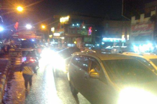 Lalu lintas di Jalan Daan Mogot Tangerang kembali normal