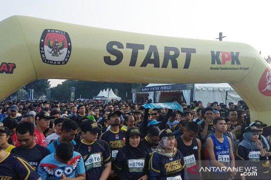 """Ribuan peserta ikuti """"Pemilu Run 2019"""" di Jakarta"""
