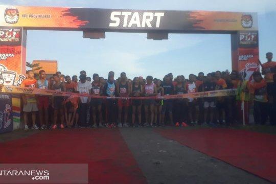 Ribuan peserta ikuti KPU Run 2019 NTB