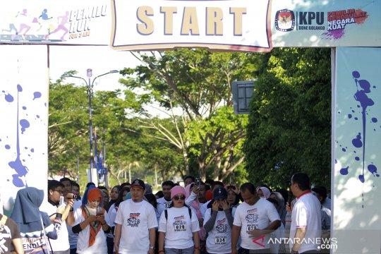 KPU Bone Bolango gelar Pemilu Run gaet anak muda