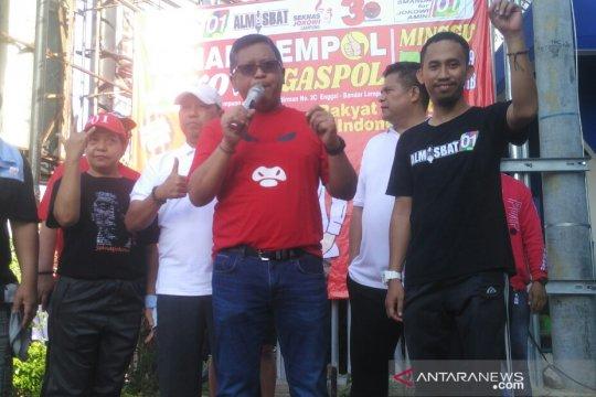 Jokowi-Ma'ruf Amin targetkan 65 persen suara di Lampung