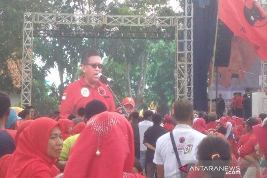 PDIP kampanye akbar di Lampung Selatan