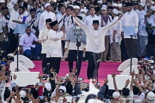 Round up - Nuansa religi dalam kampanye akbar Prabowo-Sandi