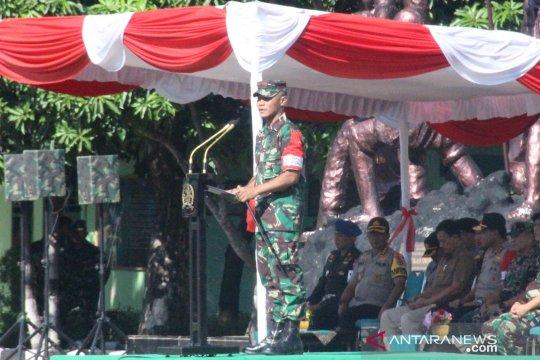 Pangdam pimpin gelar pasukan pengamanan Presiden ke NTT