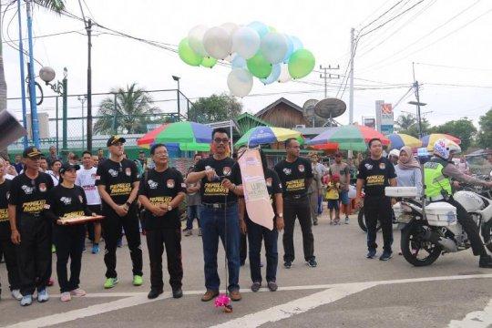 """KPU Barito Utara harapkan """"Pemilu Run"""" tingkatkan partisipasi pemilih"""