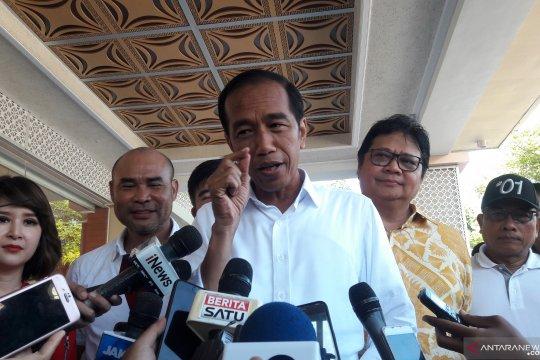 Jokowi sepakat kampanye tonjolkan Kebinekaan