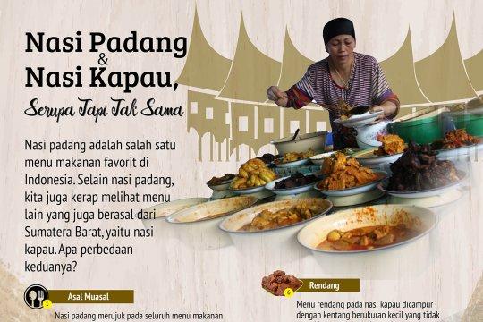Nasi Padang dan Nasi Kapau, Serupa Tapi Tak sama