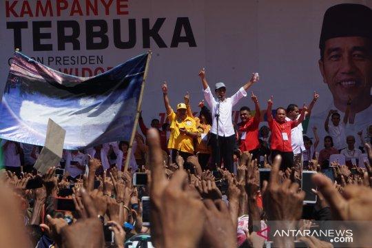 Jokowi: Masyarakat saling ajak ke TPS