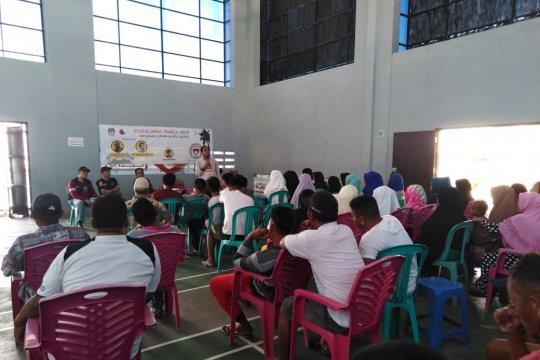 KPU Sulsel-LAPAR sosialisasi pemilu warga tinggal di pulau