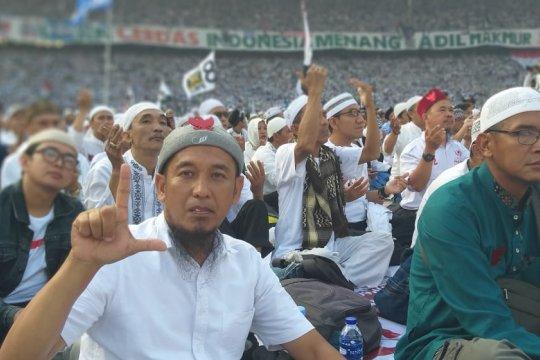 Hadiri kampanye Prabowo di GBK, caleg PBB alihkan dukungan ke PKS