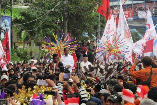 Jokowi ungkap hologram dalam kampanyenya buatan anak muda