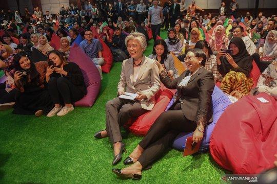 Menlu RI, Korsel berbagi inspirasi dengan generasi millennial
