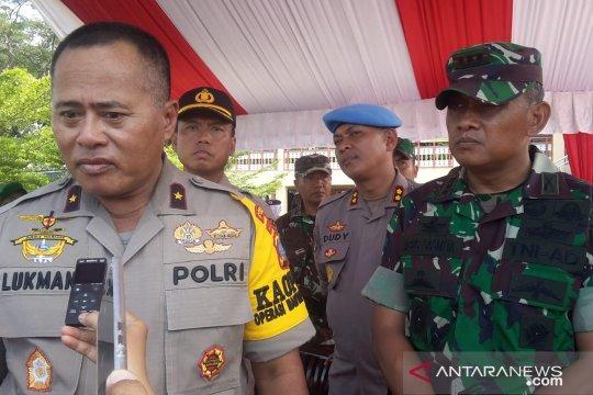 Polri-TNI jamin keamanan TPS saat pemilu di Sulteng