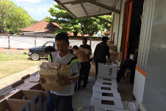 Kesiapan logistik KPU Denpasar capai 90 Persen