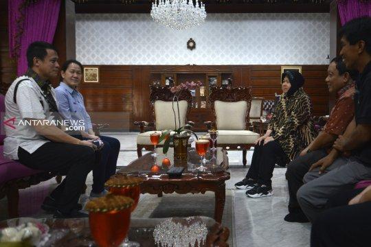 Risma siap temui beberapa atlet terkait Museum Olahraga Surabaya
