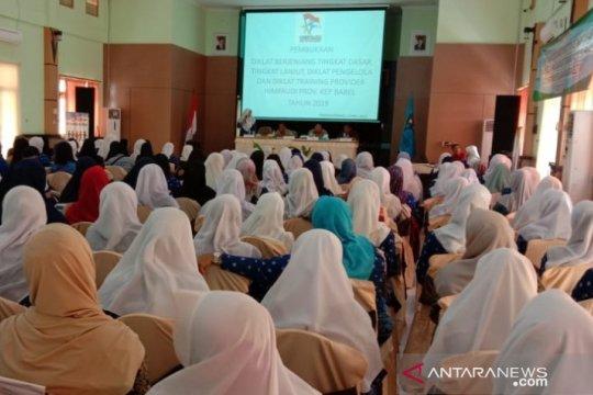 Doa bersama digelar guru PAUD se-Babel perjuangkan kesetaraan status