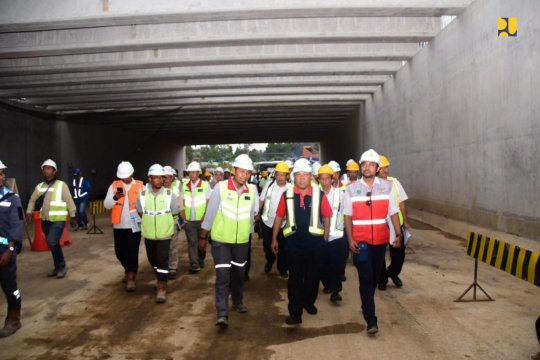 Kementerian PUPR bangun terowongan terpanjang di Indonesia