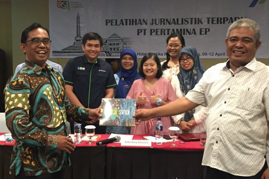 LKBN Antara beri pelatihan jurnalistik terpadu Pertamina EP