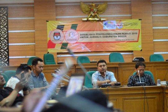 Pemilih Bogor terbanyak se-Indonesia