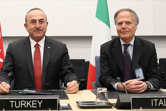 Menlu Turki-Italia bahas Libya melalui telepon