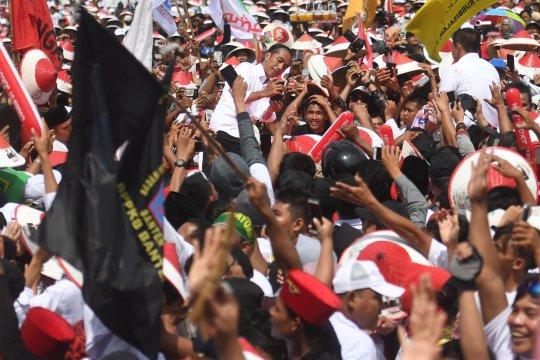 Kampanye Jokowi di Karawang