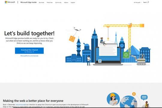 Microsoft luncurkan peramban baru mirip Chrome