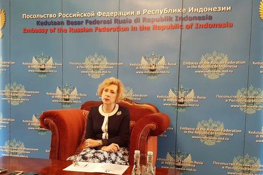 Rusia memiliki posisi sama dengan Indonesia terkait isu Palestina
