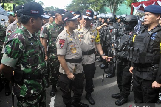 Kapolri: jangan ada mobilisasi massa sikapi Pemilu 2019