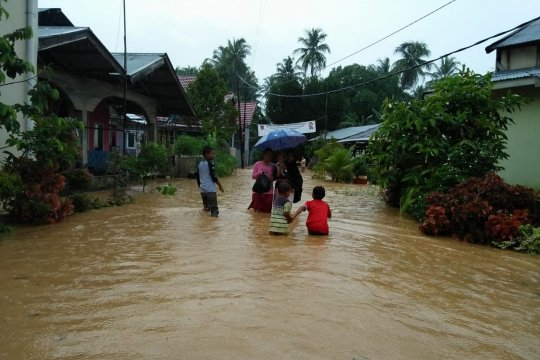 BPBD: 40 KK di Padang terdampak banjir