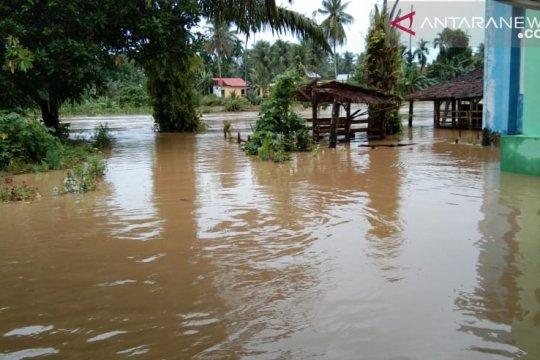 Ratusan rumah terdampak banjir di Pasaman Barat-Sumbar