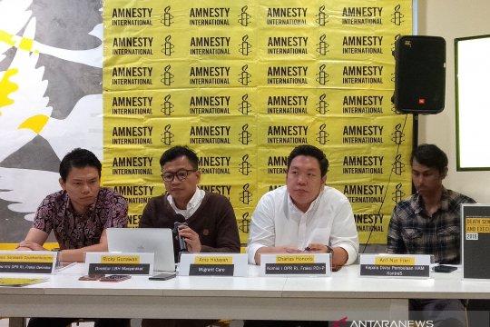 Amnesti International: 48 narapidana divonis mati pada 2018