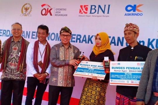 BNI salurkan KUR desa wisata Semoyang Lombok Tengah