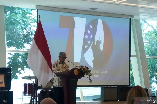 Indonesia-Amerika Serikat peringati 70 tahun hubungan diplomatik