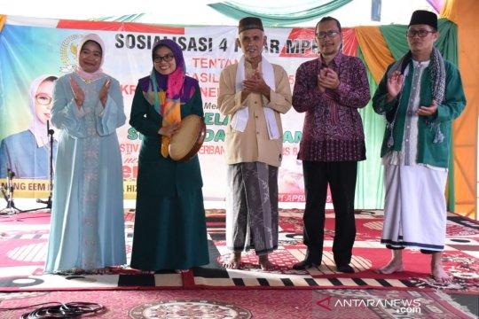 MPR sosialisasikan Empat Pilar MPR RI lewat seni bernuansa Islam