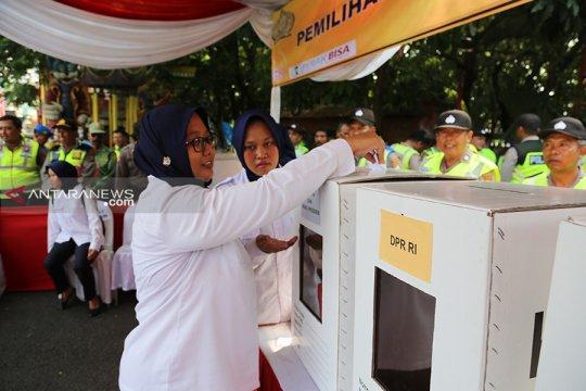 Forpimda Surabaya gelar apel kesiapan dan simulasi pengamanan TPS
